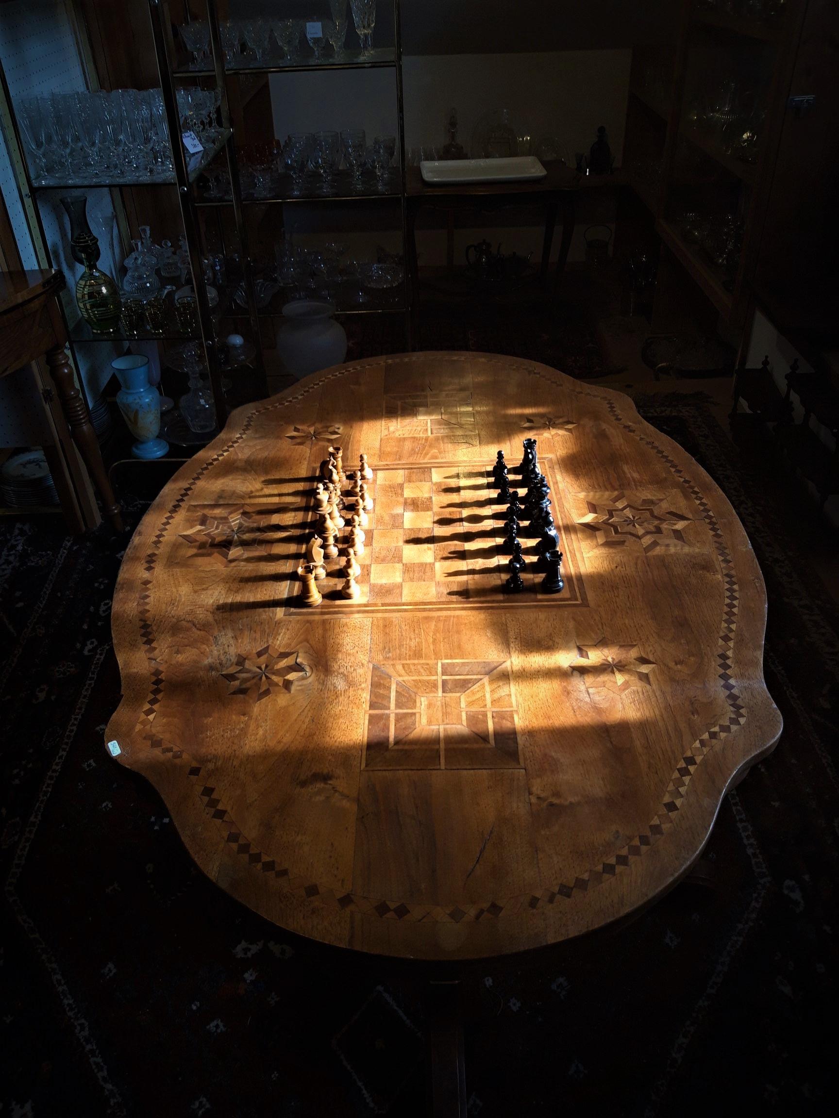 Table «jeu d'échec»